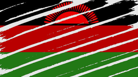 overlays: Malawi Flag tinted texture Stock Photo