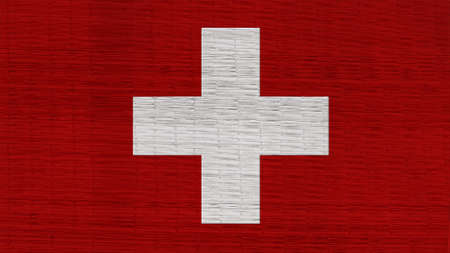 clime: switzerland Flag Japanese mats texture