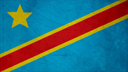 clime: the democratic republic of the congo Flag Crepe Paper texture