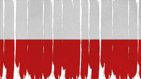 clime: poland Flag tinted vertical texture Stock Photo