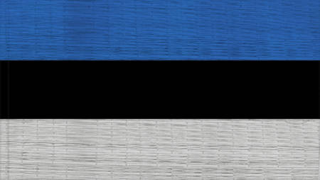 clime: estonia Flag Japanese mats texture Stock Photo