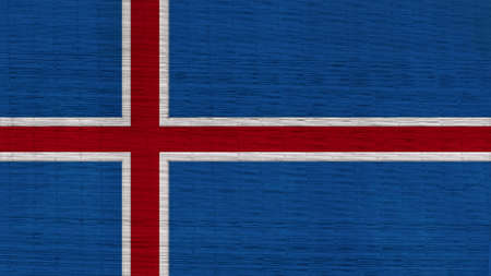 flag of iceland: islandia bandera japonesa Esteras textura