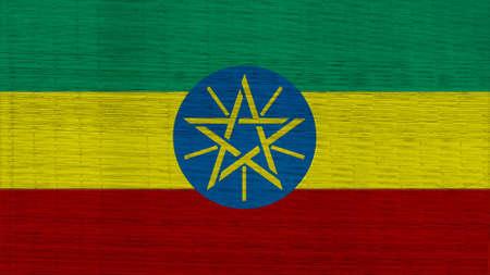 ethiopia flag: ethiopia Flag Japanese mats texture