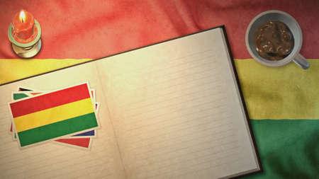 bandera de bolivia: bandera de Bolivia y el dise�o del libro de papel en los estilos de �poca