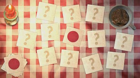 matching: estilos jap�n de tarjetas a juego de la bandera de la vendimia