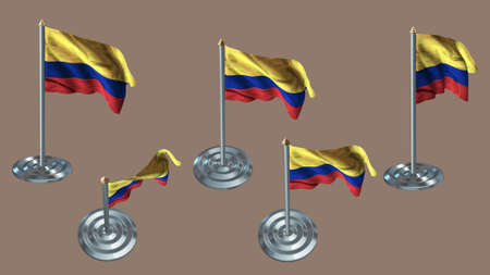 aluminium texture: colombia pin with aluminium texture set