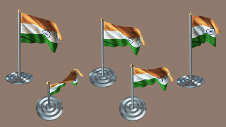 aluminium texture: india pin with aluminium texture set