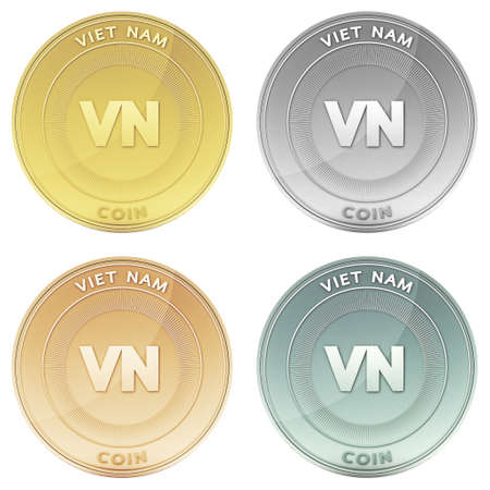 VIET NAM coin front view