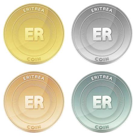 eritrea: ERITREA coin front view