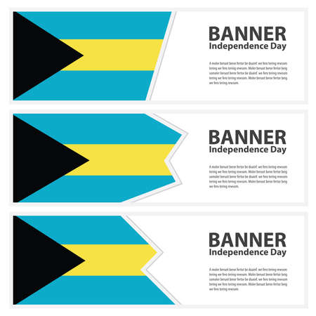bahamas celebration: bahamas  Flag banners collection independence day