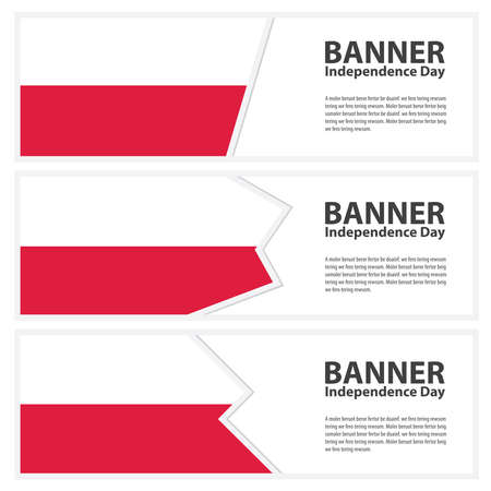 poland flag: poland Flag banners collection independence day