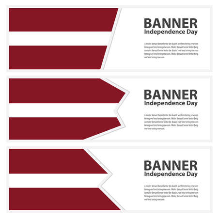 latvia flag: latvia Flag banners collection independence day