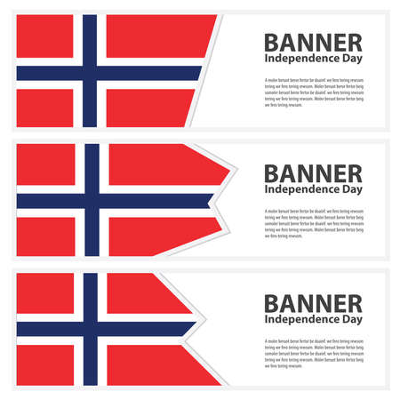norway flag: norway Flag banners collection independence day