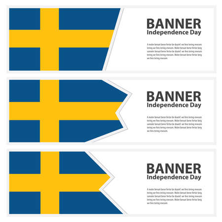 sweden flag: sweden Flag banners collection independence day