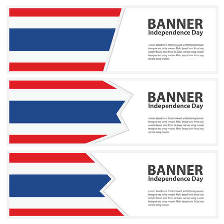 thailand flag: thailand Flag banners collection independence day