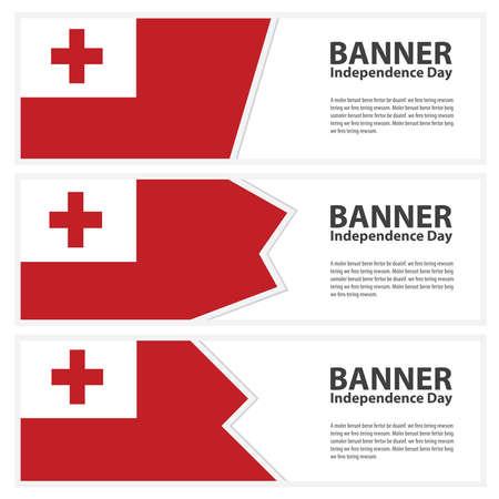 tonga: tonga Flag banners collection independence day