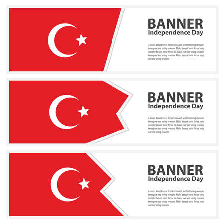 turkey flag: turkey Flag banners collection independence day