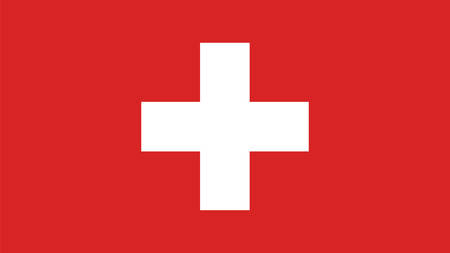 switzerland flag: switzerland Flag for Independence Day and infographic Vector illustration.