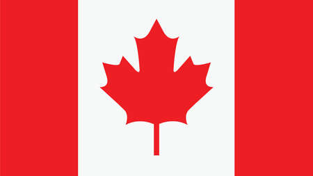 country flags: canada Flag for Independence Day and infographic Vector illustration.