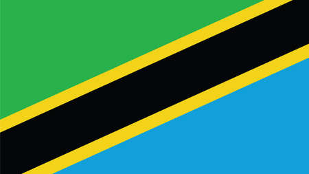tanzania: tanzania Flag for Independence Day and infographic Vector illustration.