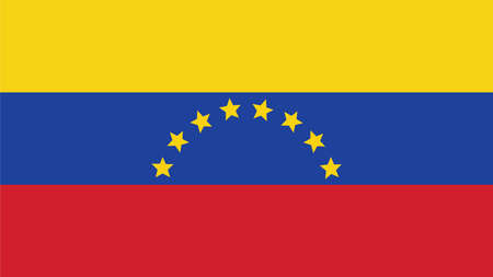 forth: venezuela Flag for Independence Day and infographic Vector illustration.