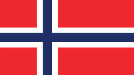 norway flag: norway Flag for Independence Day and infographic Vector illustration.