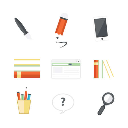 design office: office icons design