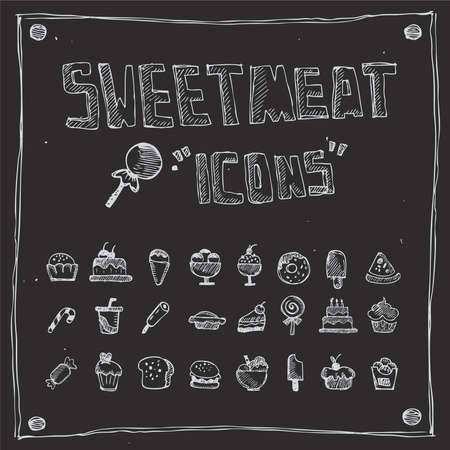 sweetmeat: sweetmeat draw collection Illustration