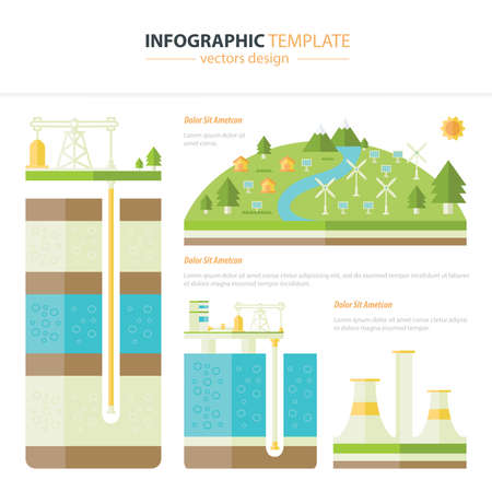 hydro electric: energy infographic
