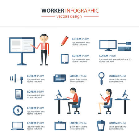 community people: Office Infographics