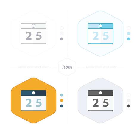calendar design: calendar icons 4 design