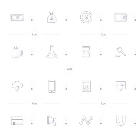 magnetization: icons 16 ind 1 set line style