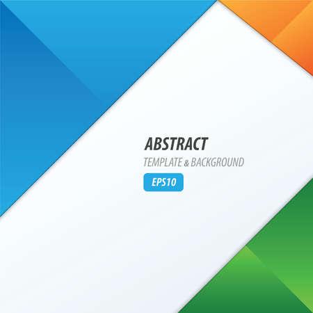 dimension: background dimension modern, blue, green, orange color Illustration