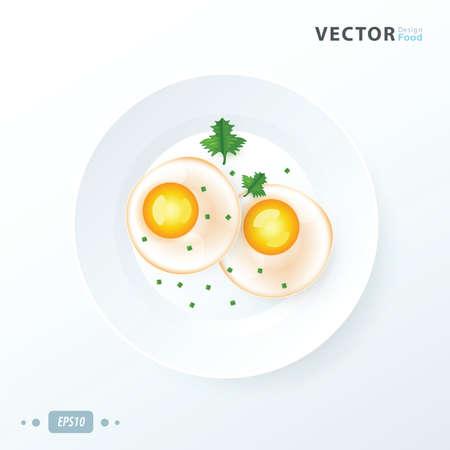 Organic Sunnyside up Egg to breakfast