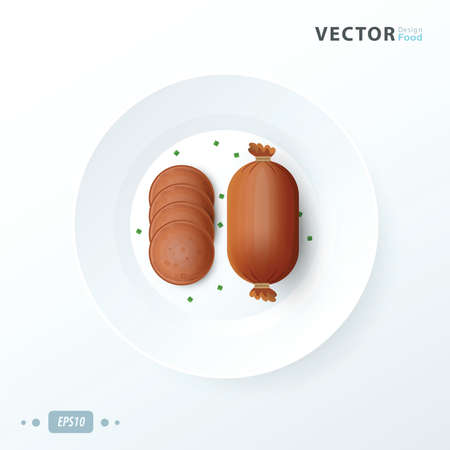 hot dog food design