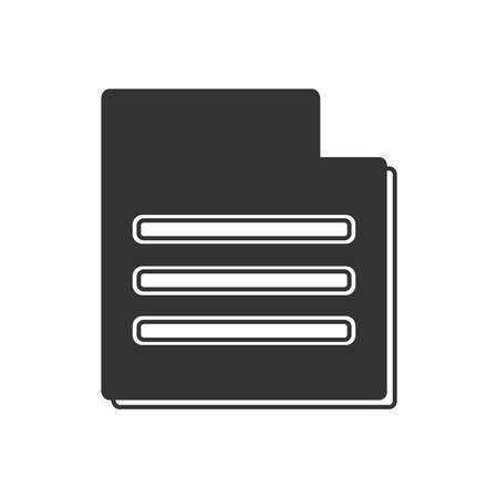 document file: Document File icon  bold style