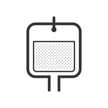 el diseño de iconos solución salina