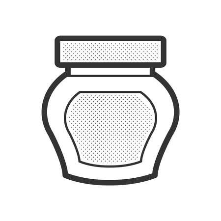 Creams, lotions for spa icon design