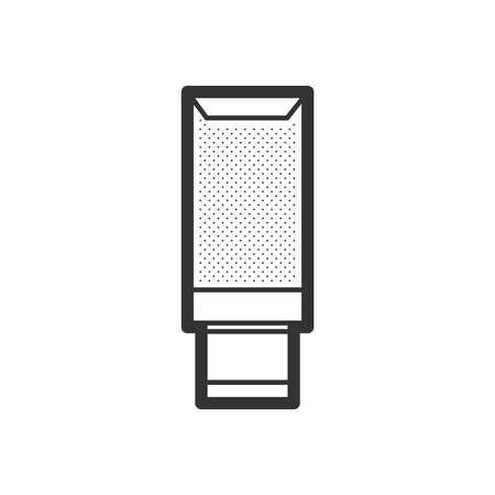 クリーム、ローション スパ アイコン デザイン