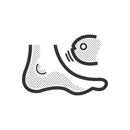 Fish spa feet  icon