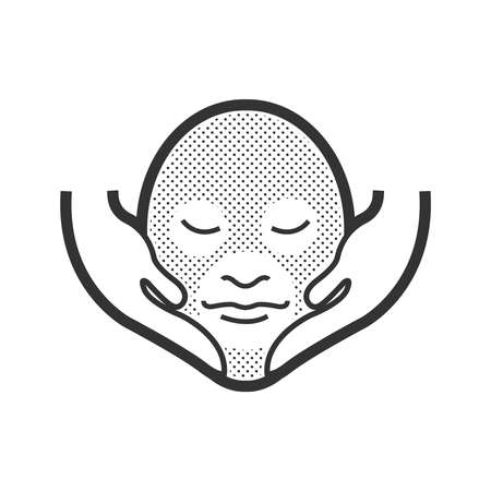 alternative medicine: Face Massage Alternative medicine icon