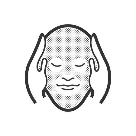 head massage: head massage icon