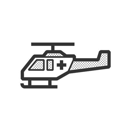 fuselage: ambulance helicopter icon