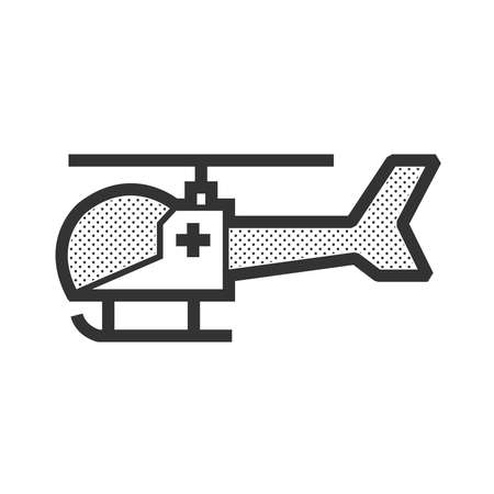 fuselage: design ambulance helicopter icon