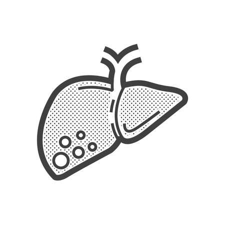 liver cancer: liver cancer icon