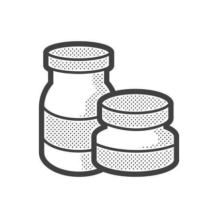 phial: Medical Pharmacist, medicine 2 bottles icon