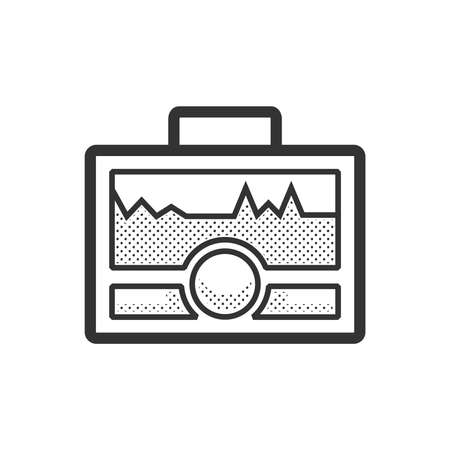 medical device: Medical Device Icon, Health care portable machine