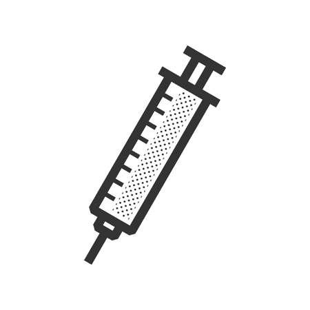 medical device: Medical Device Icon, syringe