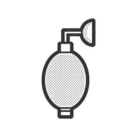 hair mask: Medical Device Icon, Oxygen Mask