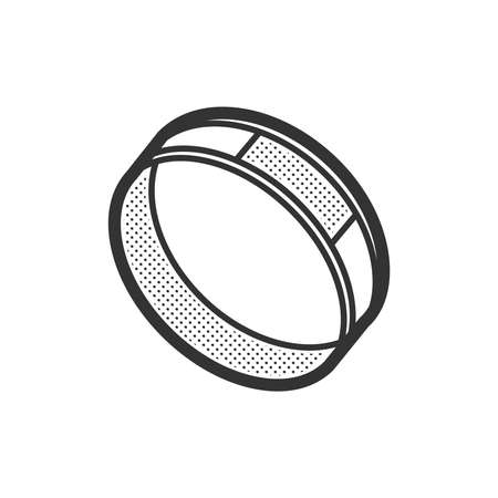 medical device: Medical Device Icon, Diabetes Watch design Illustration